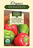 Seeds of Change 06072  Certified Organic Cal Wonder Red Bell Pepper Photo, new 2020, best price $3.49 review