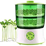 110V Bean Sprouts Machine Automatic Intelligence Electronical Seed Sprouts Maker Food Grad PP Material 2 Layers Large Capacity Power-Off Memory Function Sprouter Photo, new 2020, best price $69.99 review