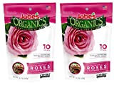 Jobe's Organics Rose Fertilizer Spikes, 3-5-3 Time Release Fertilizer for All Flowering Shrubs, 10 Spikes per Package (2, Original Version) Photo, new 2020, best price $21.99 review