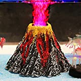 Uniclife Aquarium Volcano Ornament Kit with Air Stone Bubbler Fish Tank Decorations Photo, new 2020, best price $16.99 review