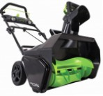 snowblower Greenworks 80V Photo and description