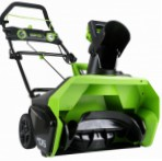 snowblower Greenworks 40V Photo and description