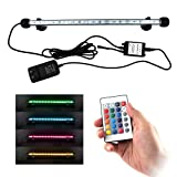 COVOART LED Aquarium Light, 15inch Fish Tank Light RGB Color Underwater Light Submersible Crystal Glass Lights Photo, new 2020, best price $15.88 review