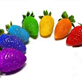 Big Sale!100 Seed/Lot Rainbow Strawberry Fruit Seeds Multicolor Strawberry Fruit Seeds, Garden Green Fruits,#7F2VQP Photo, new 2019, best price $2.43 review