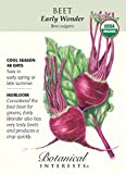 Early Wonder Beet Seeds - 2 grams - Organic by Hirts: Seed; Vegetable Photo, new 2018, best price  review