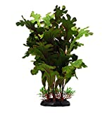 ZAZALUM Artificial Aquarium Silk Plants, Fish Tank Green Decoration Aquatic Water Grass Ornament with Ceramic Base, Lobelia-green-12in Photo, new 2019, best price $8.99 review