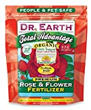 Dr. Earth 702P Organic 3 Rose & Flower Fertilizer in Poly Bag, 4-Pound Photo, new 2017, best price $13.27 review