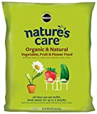 Miracle-Gro Nature's Care Organic and Natural Vegetable, Fruit and Flower Food ( 8 lbs ) Photo, new 2018, best price $9.07 review