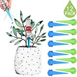 DCZTELG Plant Watering Spike Automatic Garden System Indoor Outdoor Plant Watering Drip Irrigation System Care Your Flowers (12-pack) Photo, new 2018, best price $16.99 review