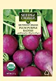 Seeds of Change 05732 Certified Organic Plum Purple Radish Photo, new 2018, best price $4.99 review