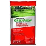 GreenView Fairway Formula Spring Fertilizer Weed & Feed Plus Crabgrass Preventer, 36 lb bag, Covers 10,000 Sq. Ft. Photo, new 2019, best price $59.99 review