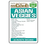 Asian Veggies Vegetable Seeds COMBO KIT - from Basil Thai to Winter Melon Seeds - By MySeeds.Co (Asian Veggies Kit) Photo, new 2018, best price $29.95 review