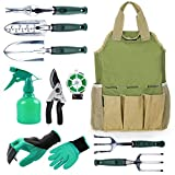 INNO STAGE Gardening Tools Set and Organizer Tote Bag with 10 Piece Garden Tools,Best Garden Gift Set,Vegetable Gardening Hand Tools Kit Bag with Garden Digging Claw Gardening Gloves Photo, new 2019, best price $46.95 review
