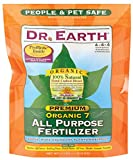 Dr. Earth 706P Organic 7 All Purpose Fertilizer in Poly Bag, 4-Pound Photo, new 2018, best price $14.37 review