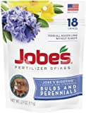 Jobe's Fertilizer Spikes for Bulbs and Perennials 9-12-6 Time Release Fertilizer for Tulips, Daffodils and all Other Bulb Perennials, 18 Spikes Per Package Photo, new 2018, best price $5.88 review