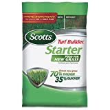 Scotts Turf Builder Lawn Food - Starter Food for New Grass, 5,000-sq ft (Not Sold in Pinellas County, FL) Photo, new 2018, best price $22.89 review