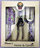 SHERRI'S HOME AND GARDEN Floral Garden Hand Tools - Set of 3 - Steel (Wildflower) Photo, new 2019, best price $29.99 review