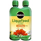 Miracle-Gro LiquaFeed All Purpose Plant Food Refill Pack, (Liquid Plant Fertilizer) 16 oz. (4 Count) Photo, new 2017, best price $10.98 review