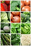 12 Assorted Cold Hardy Non-Gmo Easy Grow Vegetable Seeds (Organic) 1400+ Seeds 656793277190 Broccoli, Onion, Lettuce, Cabbage and More Photo, new 2018, best price $9.79 review