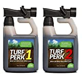 Turf Perk Microbe Mix and Azospirillum Lawn Treatment - STEP 1 and STEP 2 Combo Pack Lawn Solution. Repair, Prepare, Strengthen, and Maintain your Lawn! All Natural Lawn Food for All Types of Grass. Photo, new 2018, best price $49.95 review