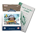 Sweetest Corn Seed Collection, 4 Variety Pack of Non-GMO Sweet Corn Seeds, Bodacious, Early Xtra Sweet, Peaches & Cream and Kandy Corn by Sustainable Seed Photo, new 2018, best price $13.99 review