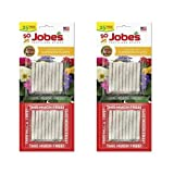 Jobe's Fertilizer Spikes for Flowering Plants, 10-10-4 Time Release Fertilizer, 50 Spikes per Package (2 Pack) Photo, new 2020, best price $8.59 review