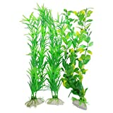 CNZ 3-piece Aquarium Plastic Artificial Plants, 9.8-inch Tall Photo, new 2019, best price $5.31 review