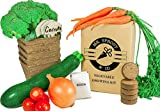 Mr. Sprout & Co Organic Vegetable Garden Kit - Vegetable Garden Seed Starter Kit for Kids, Adults Or Gift Idea- Includes Seeds for Cherry Tomatoes, Broccoli, Onions, Carrots, Zucchini Photo, new 2020, best price $22.95 review