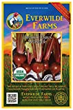 Everwilde Farms - 500 organic Early Wonder Beet Seeds - Gold Vault Packet Photo, new 2019, best price $2.98 review
