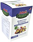 Jobe's Organics Bursting Blooms Fertilizer with Biozome 3-3-3 Water Soluble Plant Food Mix for All Flowering Plants, 10 oz Box Makes 30 Gallons of Organic Liquid Fertilizer Photo, new 2018, best price $10.78 review