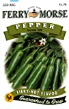 Ferry-Morse Pepper - Serrano Chili Seeds Photo, new 2019, best price $4.61 review