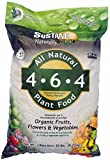 Sustane All Natural Flower and Vegetable Plant Food, 20-Pound Photo, new 2017, best price $42.71 review