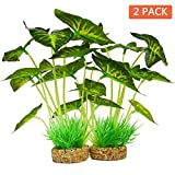 Aquarium Plants Decoration,Artificial Plants for Fish Tank,10 Inches/25cm High,2 Pack Photo, new 2019, best price $22.99 review