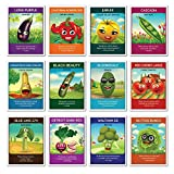 Heirloom Culinary Vegetable Seeds (12 pack) – Eggplant, Bell Pepper, Yellow Tomato, Cherry Tomatoes, Snap Peas, Squash, Zucchini, Spinach, Bush Beans, Beets, Broccoli, Lettuce - Zziggysgal Photo, new 2019, best price $15.99 review