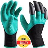Garden Genie Gloves with Claws Waterproof Gardening Gloves for Digging & Planting One Size Fits All As Seen On TV Photo, new 2018, best price $8.35 review