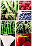 Organic New Bulk 3 Asparagus Seeds Survival Seeds 585+ Seeds Bonus Fruit Seeds Upc 650327337701 + 6 Plant Markers Jersey Mary Washington Raspberry Strawberry Photo, new 2018, best price $7.59 review