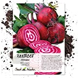 Seed Needs, Chioggia Beets (Beta vulgaris) 1,000 Seeds Non-GMO Photo, new 2019, best price $3.85 review