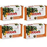 Jobes 01612 Fertilizer Spikes for Fruit and Citrus Trees, 9-12-12, 15 Pack (4 pack) Photo, new 2019, best price $61.08 review