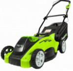 cortacésped Greenworks 2500007 G-MAX 40V 40 cm 3-in-1 Foto y descripción